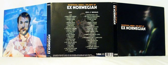 Ex Norwegian - Something Unreal: The Best Of CD outside