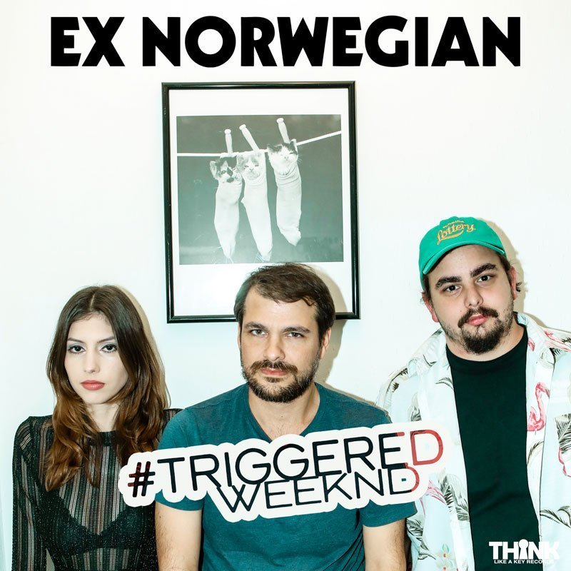 Ex Norwegian - Triggered Weeknd single cover