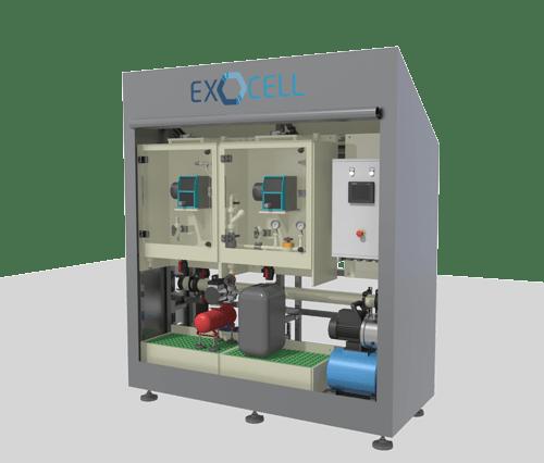 Modélisation 3D d'un skid de dosage ReakCell