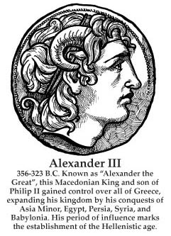 timeline figure for Alexander the Great