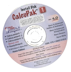 CalcuLadder MasterPak 1 CD-ROM - Exodus Books