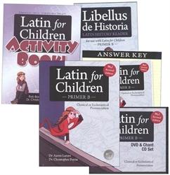 Latin for Children Primer B - Mastery Bundle - Exodus Books