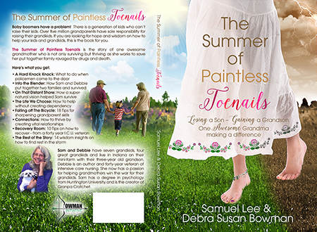 The Summer of Paintless Toenails - Christian Book Cover Design
