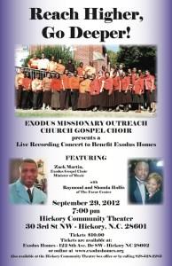 Reach Higher Go Deeper Gospel Concert