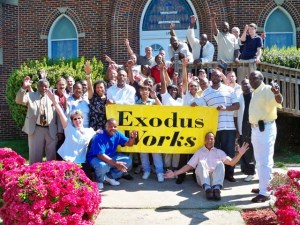 Exodus Homes Celebrates Their Work In The People's Bail-Out