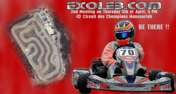 exoleb 2nd meeting karting