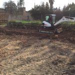 Excavación obra Baluard del Rei