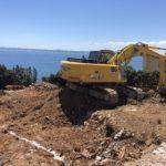 Excavación de una vivienda