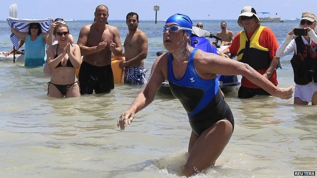 "Diana Nyad: ""You are never too old to chase your dreams"""