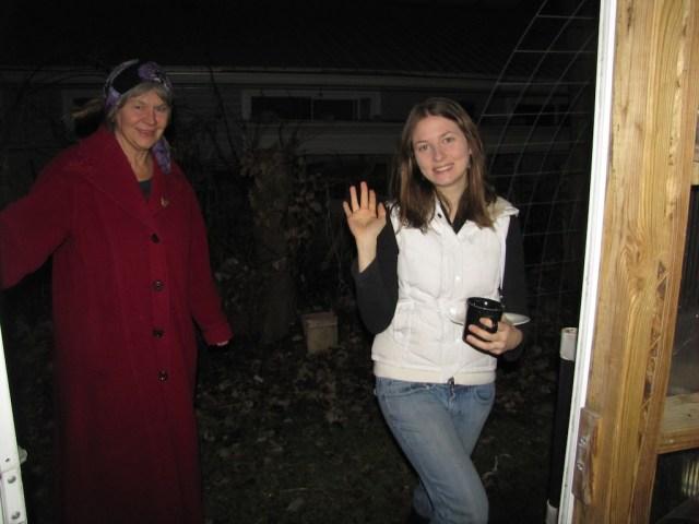 Rebecca and Leah