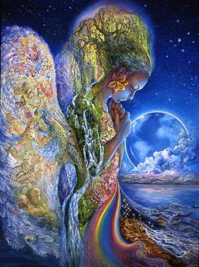 "Image: www.josephinewall.co.uk ""The sadness of Gaia"""