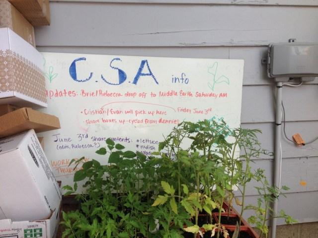 CSA sign