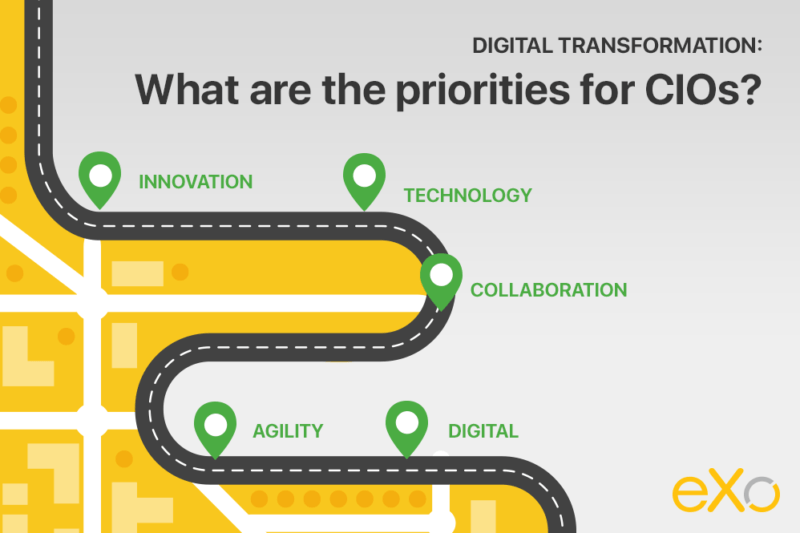 Cio priorities in digital transformation
