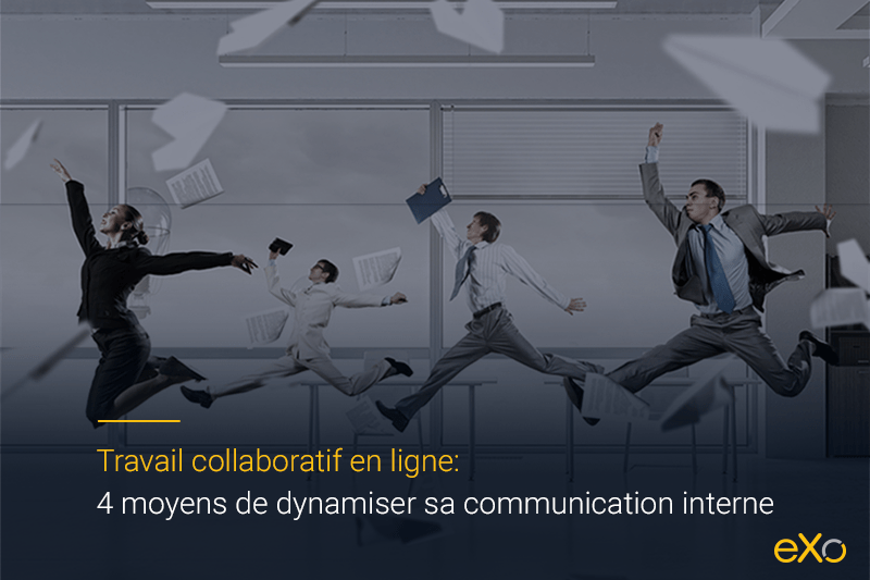 communication interne, travail collaboratif en ligne