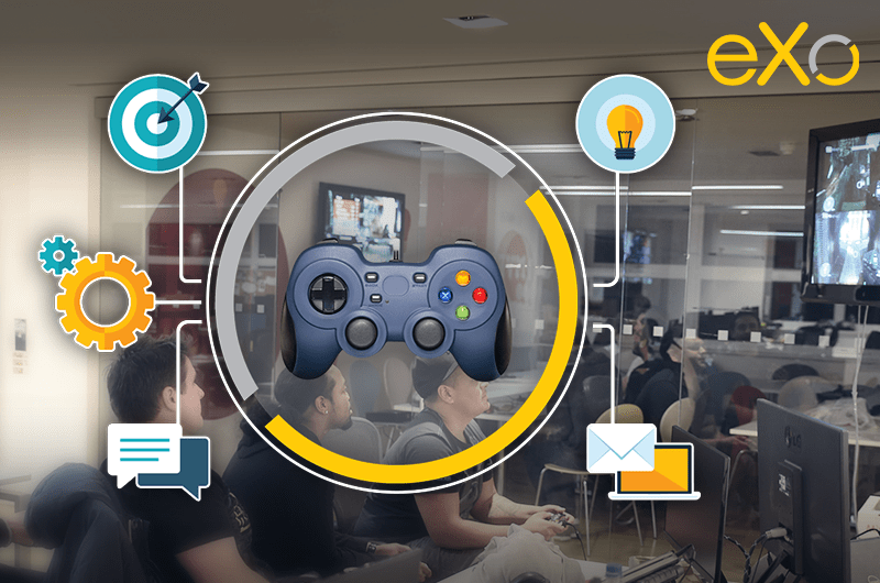 gamification d'une digital workplace, engagement employé