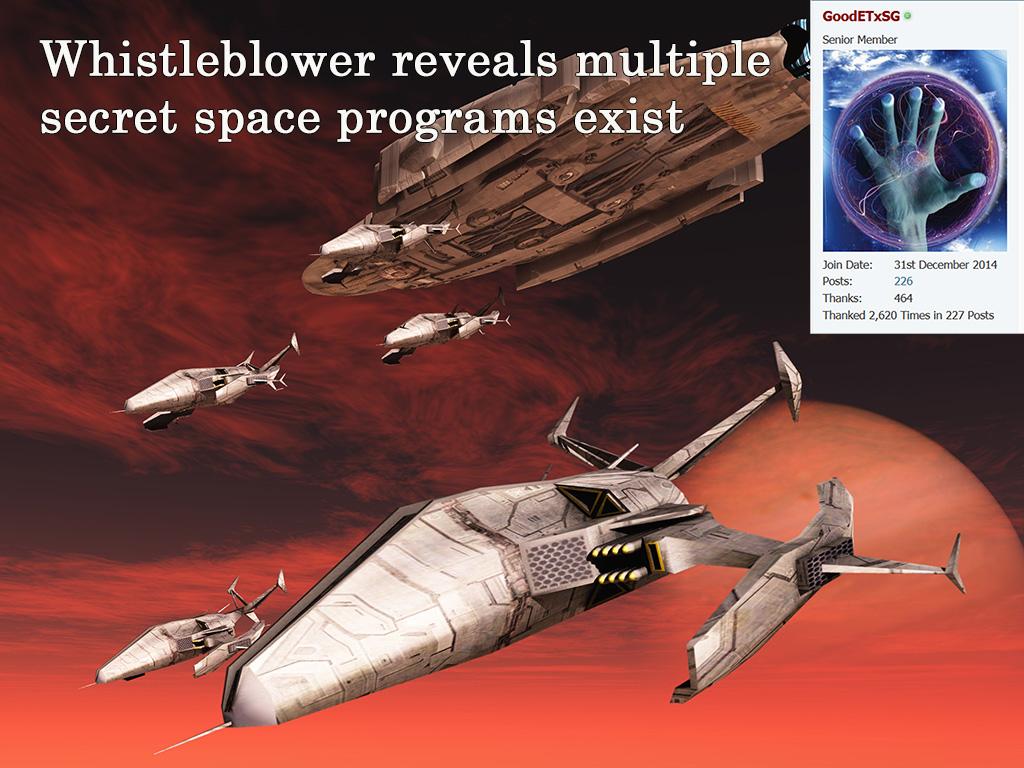 Whistleblower reveals multiple secret space programs concerned about new alien visitors