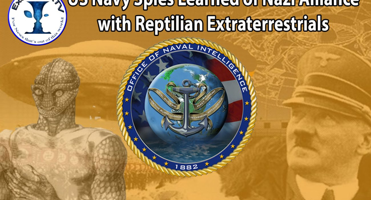 US Navy Spies Learned of Nazi Alliance with Reptilian