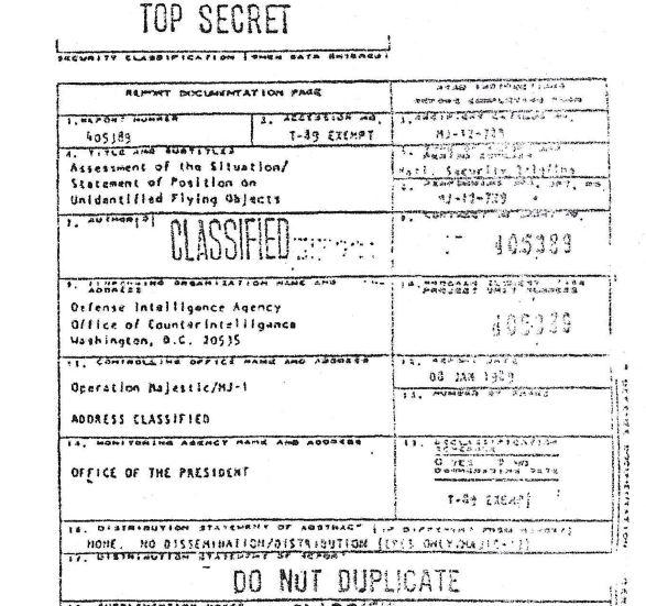 """Майкл Салла - Новое расследование показывает, что спорный документ Комитета """"Маджестик-12"""", раскрывающий контакты с инопланетянами, является подлинным MJ-Briefing-1989-p.2"""