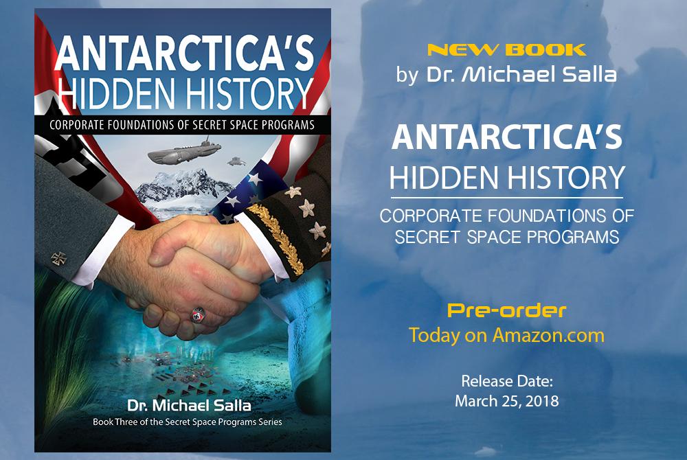 New Book – Antarctica's Hidden History: Corporate Foundations of Secret Space Programs