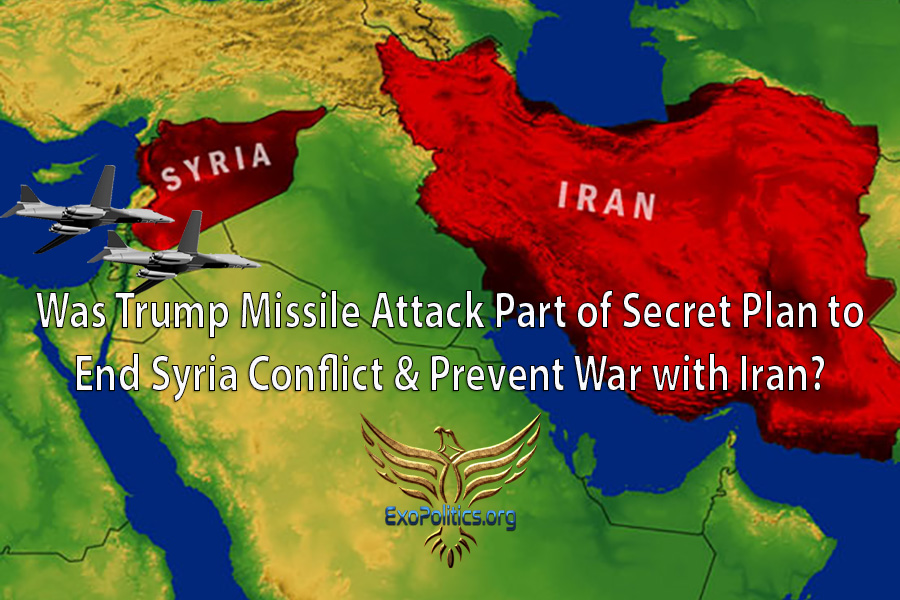 Was Trump Missile Attack Part of Secret Plan to End Syria Conflict & Prevent War with Iran?
