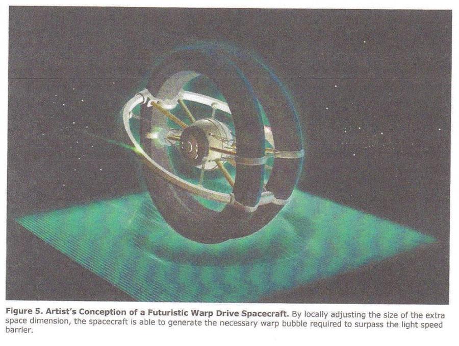 Майкл Салла - Доклады о продвинутых технологиях,  высвобожденные Кори Гудом, были подтверждены ведущим ученым Warp-Drive-Spacecraft-1