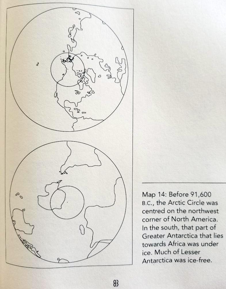 Отчеты Антарктического Ледяного ядра разрешают конкурирующие теории сдвига полюсов  Antarctica-pre-91000BC