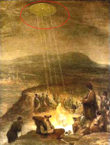 Ovnis en pinturas antiguas