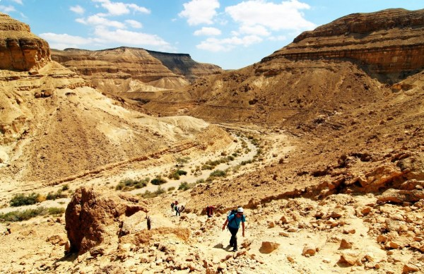 israel desert heat