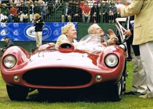 Devin roadster winning at Amelia Island Concours 2012