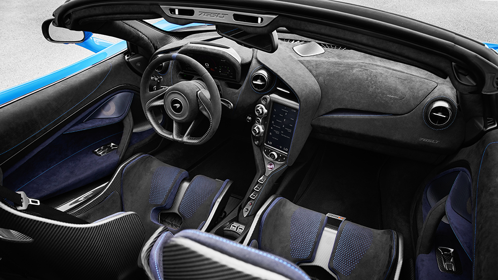 McLaren 765LT Spider Interior
