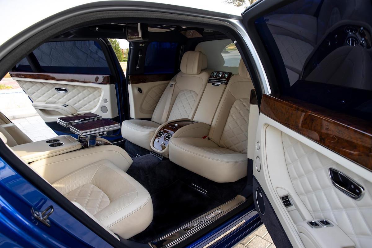 Bentley Mulsanne Grand Limousine Interior