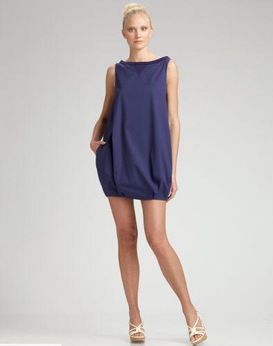 Blue mini Prada Dress
