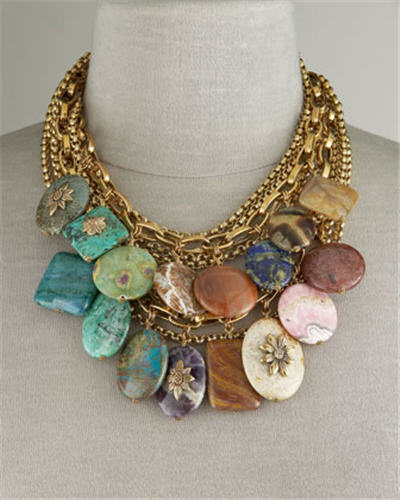 Stephen Dweck Multi-Stone Necklace