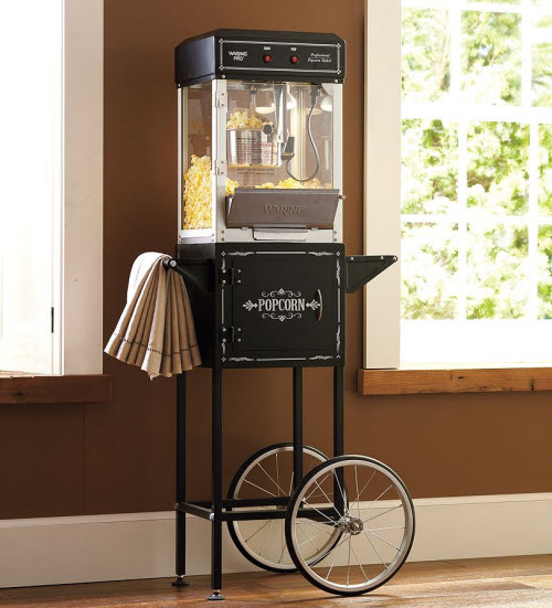 Professional Popcorn Maker Amp Trolley