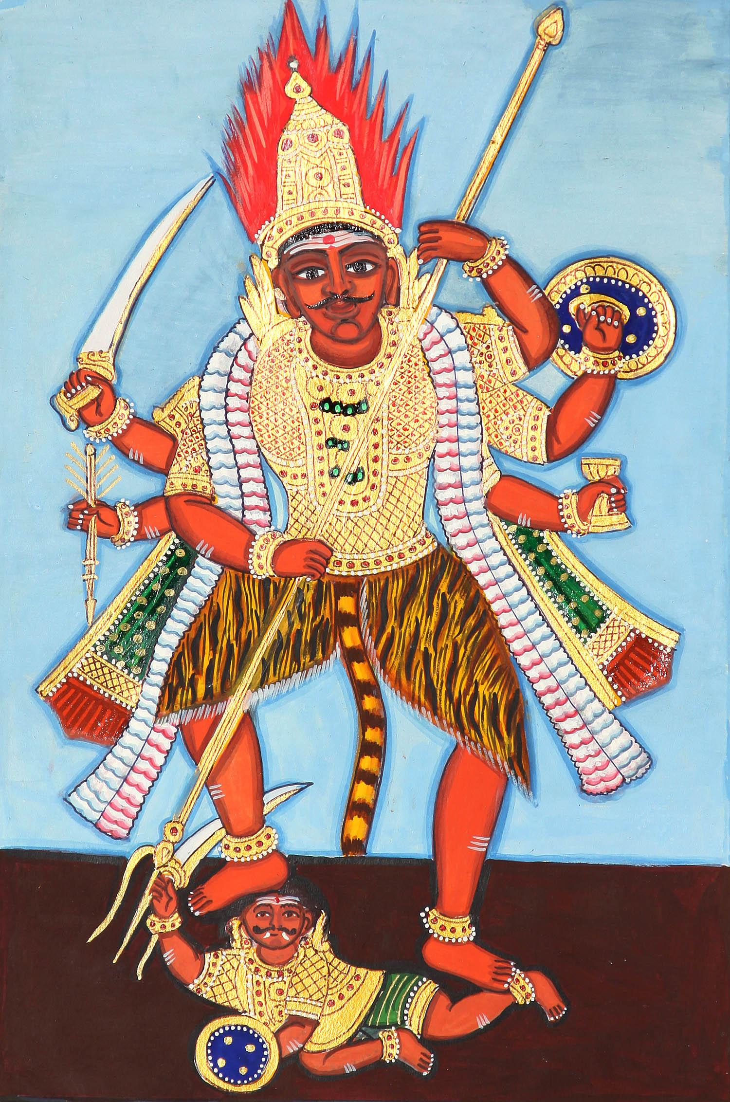 Virabhadra The Trusted Guard Of Lord Shiva