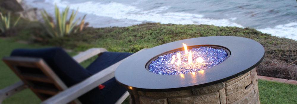 Reflective Fire Glass: Fire Pit Inspiration, Design, Ideas ... on Fire Pit Inspiration  id=18539