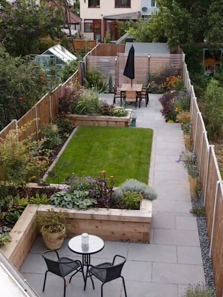 SMALL BACKYARD DESIGN IDEAS - 2017 GUIDE on Narrow Backyard Landscaping Ideas  id=98853