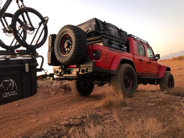 jeep gladiator products expedition one