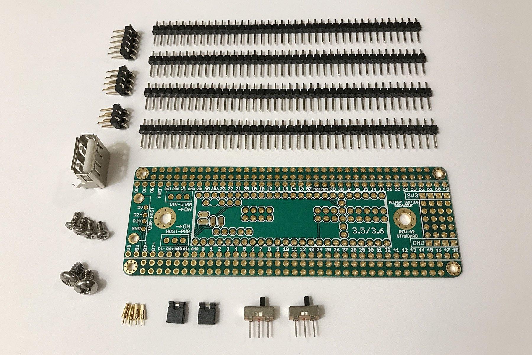 Teensy 3 5 3 6 Breakout Standard Interfaces Modules