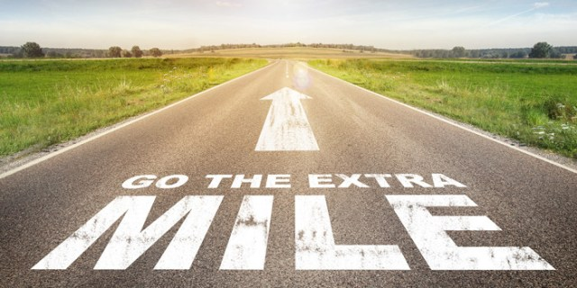 Wowing your customers to go the extra mile