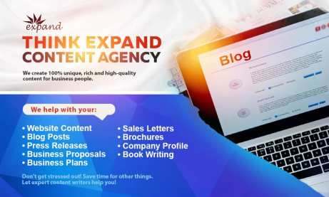 Think Expand Business Writing Services