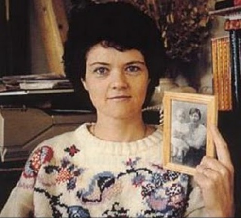 Is reincarnation real? Jenny Cockell is seen holding a picture of Mary Sutton, the lady Jenny claims to have been in a past life.
