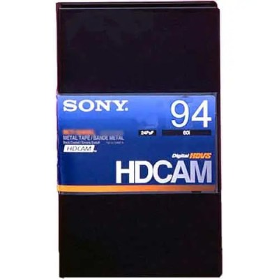 Sony BCT-94HDL HDCAM Large 94min Tape