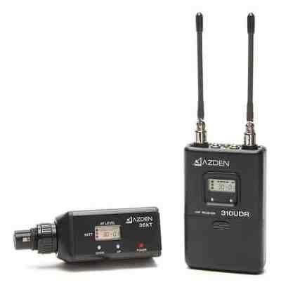Azden 310XT UHF Diversity Wireless Microphone System