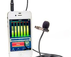Azden EX-503i Studio Pro Lapel Microphone for Smartphones & Tablets