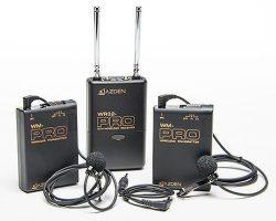 Azden WDL-PRO 2-Channel VHF Wireless Microphone System