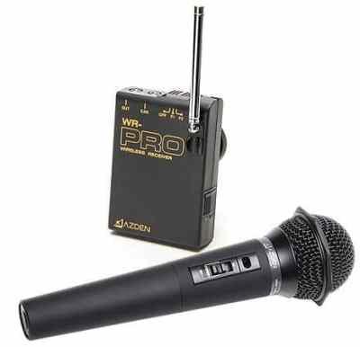 Azden WHX-PRO VHF Wireless Microphone System