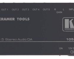 Kramer 105A 1:5 High?Performance Stereo Audio Distribution Amplifier