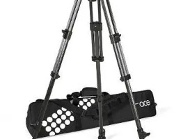 Sachtler System Ace XL GS CF Ace XL Carbon Fiber Tripod with ground-spreader
