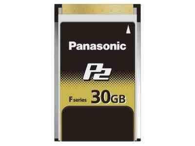 Panasonic AJ-P2E030FG 30GB F Series P2 Card